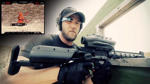 Gun company figures out how to shoot around corners using Google Glass