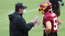 Washington calls up practice squad help at linebacker with Cole Holcomb out