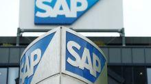 SAP says big margin gains to wait until 2020, shares down 10%