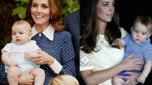 Prince Louis looks exactly like Prince George in new royal photo