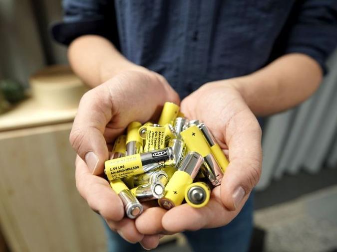 Ikea batteries