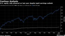 JPMorgan Says Analysts Are 'Unusually' Pessimistic on Earnings
