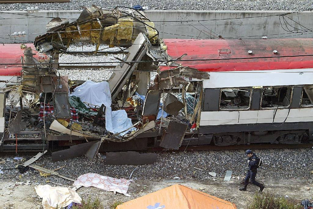 The 2004 train bombings in Madrid killed 191 people and remains the worst extremist attack in Spain's history (AFP Photo/Christophe Simon)