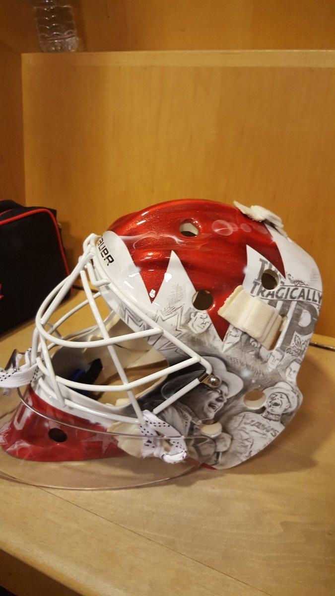 Braden Holtby Pays Tribute To Tragically Hip With World Cup Mask Photos