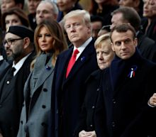 World Leaders Gather In Paris For The 100-Year Anniversary Of WWI Ending