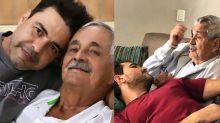 Pai de Zezé Di Camargo e Luciano passa por cirurgia após sangramento no intestino