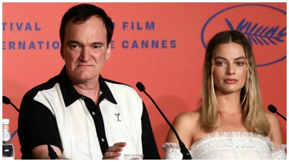 Quentin Tarantino shuts down reporter at Cannes over Margot Robbie question