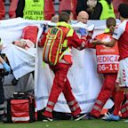 Denmark's Christian Eriksen collapses, given CPR on field during Euro 2020 match vs. Finland