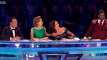 """Strictly fans call Alfonso's Bruno impression """"spot on"""""""