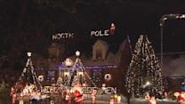 Colerain Home Lights Up For Christmas