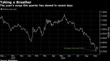 China Taps Brakes on Yuan's Big Rally With Another Weaker Fixing