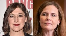 The Big Bang Theory's Mayim Bialik suggests her character should replace Amy Coney Barrett on Supreme Court