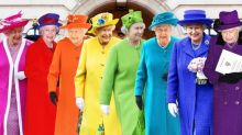 Queen Elizabeth's most colourful outfits: From her neon green memes to her official red robes