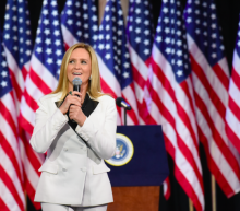 Samantha Bee brings biting satire, star power to D.C. on Trump's 100th day