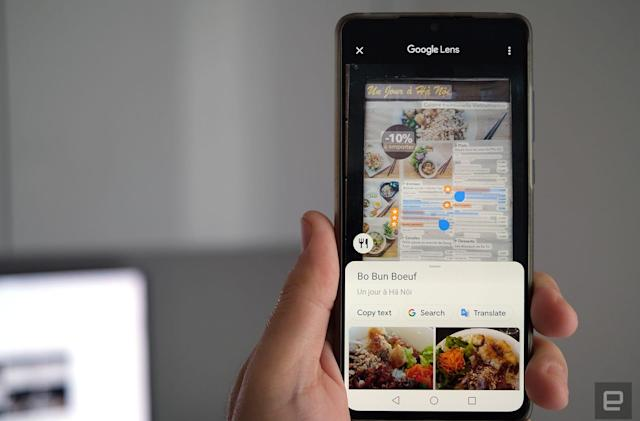 Google Maps borrows Lens tech to highlight popular restaurant dishes
