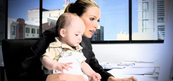 Are kids in the office a delight or a distraction?