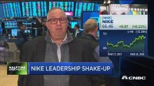 Swift reshuffling at Nike is cause for concern says analy...