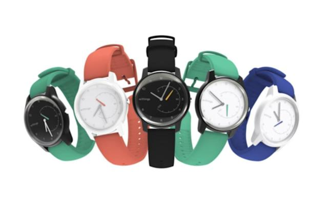 Withings' entry-level Move smartwatch arrives with custom colors
