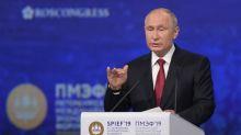 """Putin insta a """"redefinir el rol del dólar"""" en el sistema financiero"""