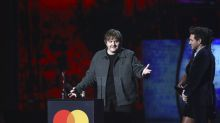 Lewis Capaldi thanks his grandmother for dying, drops F bomb at Brits 2020