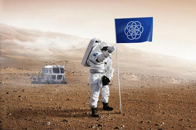 Should this be the flag for planet Earth?