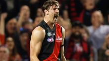 'What a roost!': Daniher long bomb sends AFL into frenzy