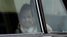 Princess Charlotte steals the spotlight at Princess Eugenie's wedding with adorable wave
