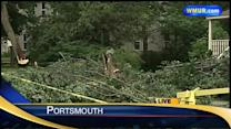 Officials: Straight-line winds caused storm damage in Portsmouth