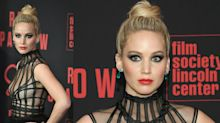 Why Jennifer Lawrence 'looked like a goth queen on crack' at 'Red Sparrow' premiere