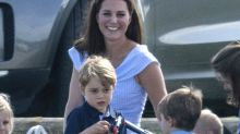 Kate Middleton let Prince George play with a toy gun and critics are horrified