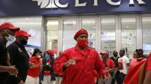 South African retailer Clicks' stores face protests over ads seen as racist
