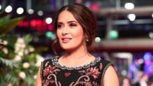 Salma Hayek's make-up free photo a hit with fans: 'Refreshing not to see Photoshopped perfection'