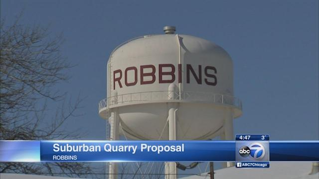 Sheriff Dart: Robbins quarry a bad deal for town