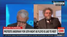 Anderson Cooper moved to tears while discussing George Floyd's funeral with Cornel West