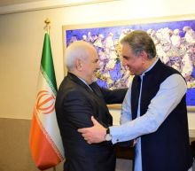 Iran's foreign minister in Pakistan amid tensions with US