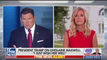 Kayleigh McEnany Absurdly Spins Trump Wishing Ghislaine Maxwell Well