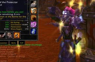 Getting Tabard of the Protector at the BC World Event