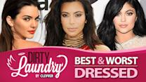 Best and Worst Dressed Kardashians & Jenners Red Carpet 2015