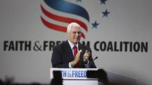 'Traitor' Mike Pence booed at conference