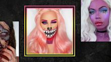 You Can Get This Cheshire Cat Makeup Look With a Makeup Kit