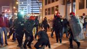 Policeman dies as hooligans fight in Spain