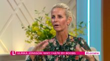 Ulrika Jonsson: I can hate my breasts if I want to