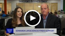 Edwards Lifesciences Finds Support