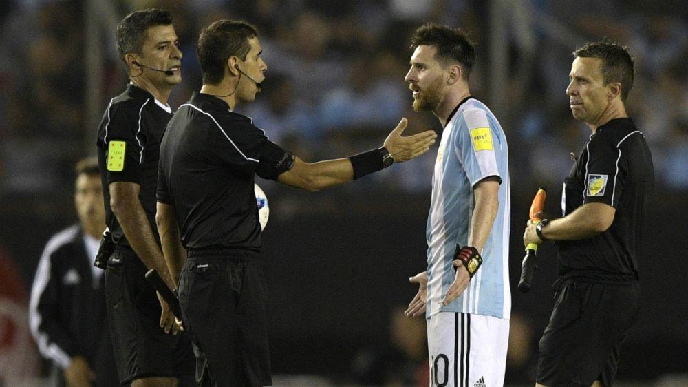 El origen de la sanción a Messi