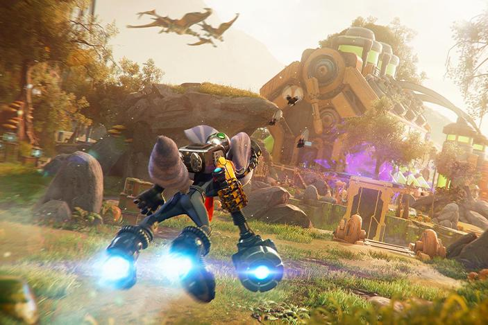 'Ratchet & Clank: Rift Apart' takes the PS5 to new heights