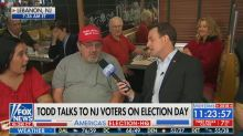 'Fox & Friends' interview with Trump fan upstaged by face-palming kid in the background