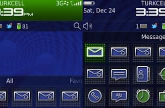 Porsche Design theme ported to BlackBerry 9900 / 9930, saves you a small fortune