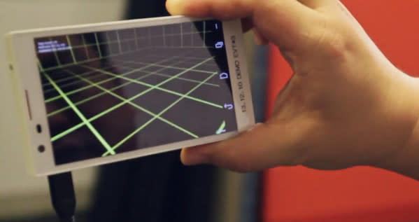 Google anuncia Project Tango: teléfonos con sensores tipo Kinect para mapear tu mundo en 3D (vídeo)