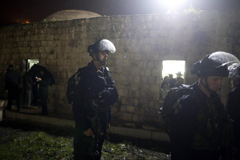 The Tomb of Joseph has been the scene of repeated clashes (AFP Photo/Menahem Kahana)