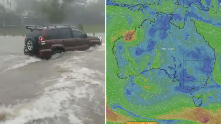 'STAY VIGILANT': Dire cyclone warning issued as flooding hits QLD